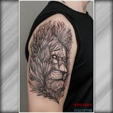 тату лев скетч иллюстрация татуировка солнечногорск