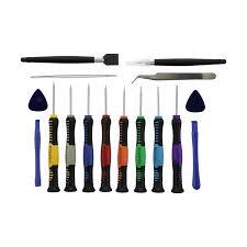 16 piece precision repair tool kit