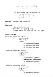 27 Microsoft Resume Templates Free Samples Examples Format For