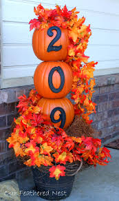 Diy Fall Decorations Fall Porch Decorating Idea Diy Fall Curb Appeal