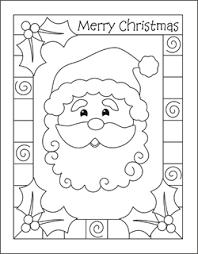 christmas card color pages malvorlagen zu weihnachten xmas stencil pinterest christmas