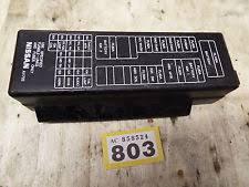 nissan primera fuses fuse boxes le nissan primera p12 1769cc 2002 2007 petrol fuse box cover lid panel