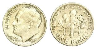 Roosevelt Dime Value Chart See How Much A Roosevelt Dime Is Worth A List Of Roosevelt