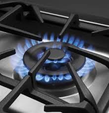 ge profile acirc cent standing self clean gas range baking 19 000 btu tri ring burner