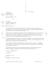 correspondence template business letter email template example of personal business letter