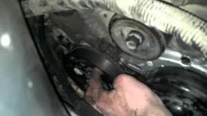 how to - 3800 series 3 water pump - power steering - YouTube