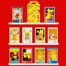 Fujifilm Instax Mini Film Instax Mini 8 / 9 Pokemon Pikachu Film Für Fuji  Mini 7s 25s 26 70 90 Instant Kamera Teilen SP 1 SP 2|Film
