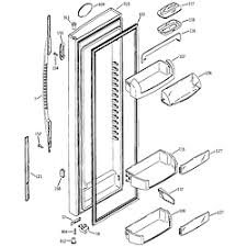 ge refrigerator n series parts model pss25sgnabs sears partsdirect fresh