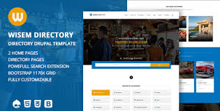 Template For Directory Directory Website Templates Themeforest Flatads Classified
