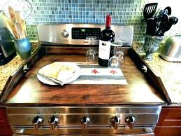 stove top cover covers gas tray noodle board diy c