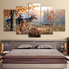 Modern Wall <b>HD Printed</b> Canvas Painting Art Modular Poster Frame ...
