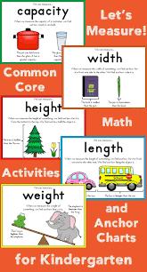 Preschool Weight Chart Measurement For Kindergarten School Measurement