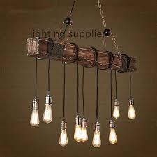 luxury vintage light fixtures loft style creative wooden vintage pendant light fixtures for dining room hanging