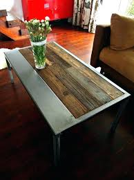 reclaimed wood and metal coffee table coffee table wood and metal the handmade rustic reclaimed wood reclaimed wood and metal coffee table
