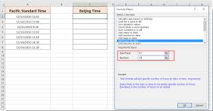 Pst To Est Chart How To Convert Date Time From One Time Zone To Another In Excel