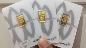 Harga Emas 24 Karat Antam Hari Ini Naik, Senin 1 Maret 2021