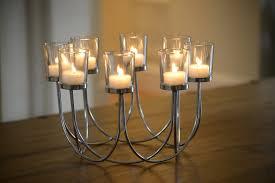 Beautiful Tea Light Glass Candle Holder Wedding Christmas Table Centrepiece  Decoration: Amazon.co.uk: Lighting