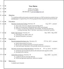 24 Free Resume Examples For College Graduates With No Experience