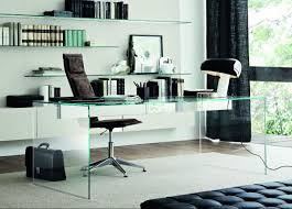 gallotti radice air glass office desk
