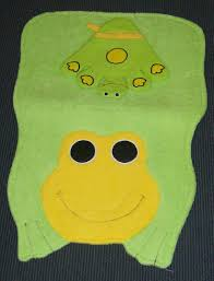 Kinder Badezimmer Set Teppich Waschlappen Motiv Frosch Kraemers Shop
