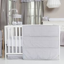 trend lab gray and circles 3 piece crib bedding set gray and white circles 1 of 4only 5 available
