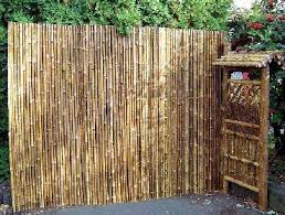 XL Large Speckled Bamboo Fence Bamboo Ornamental Fence 2