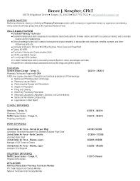 Pharmacist Objective Resume Pharmacy Technician Objective Resume Fascinating Objective On Resume For Pharmacy Technician