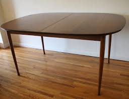 ideas of mid century modern dining tables with leaves on pedestal dining table with leaf