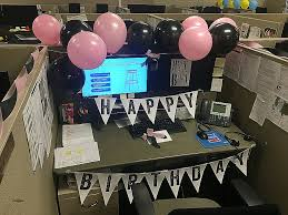 office birthday decoration ideas. Beautiful Office Desk Birthday Decoration Ideas Photos O