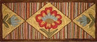 primitive folk art hooked rugs retreat rug