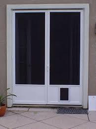 french patio doors with pet door