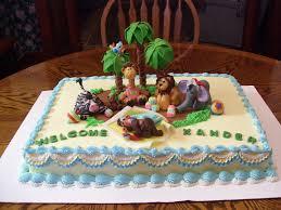 Crispyu0027s Cakes Safari Baby Shower CakeBaby Shower Safari Cakes
