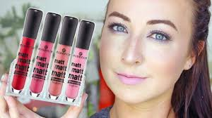 <b>essence</b> SWATCHES - <b>Matt Matt Matt</b> Lipgloss - YouTube