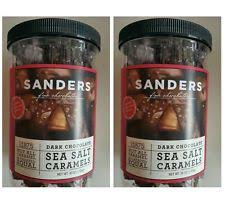 item 3 sanders dark chocolate sea salt caramels fine chocolates 2 36 oz jar sanders dark chocolate sea salt caramels fine chocolates 2 36 oz jar