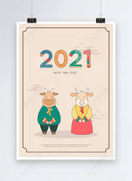 But it isn't all doom and gloom: 2021 Zodiac Ox Cartoon Tradition New Year Greeting Card Poster Template Template Image Picture Free Download 465543664 Lovepik Com