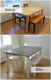diy furniture makeover full tutorial. DIY Concrete Dining Table Top Using Henry FeatherFinish - Full Tutorial From The Crazy Craft Lady Diy Furniture Makeover D