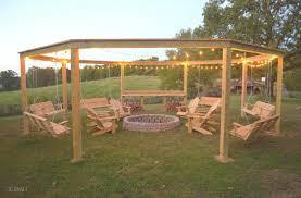 Fire Pit Swing Octagon Fire Pit Swing Lenassweethome Furniture Ideas