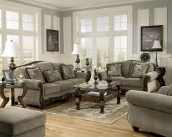 Traditional Furniture Styles Living Room Martinsburg Ashley Traditional Sofa Love Seat Amp Chair 3 Pc