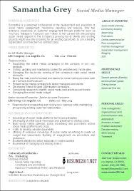 Manager Resume Examples Enchanting Social Media Coordinator Resume Media Coordinator Resume Advertising