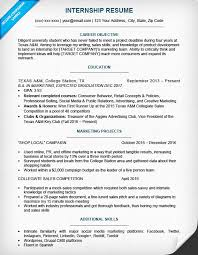 Objective For Resume For Students Enchanting Examples Of A Good College Resume Lovely Current College Student R