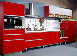 Red Lacquer Kitchen Cabinets Mdf Kitchen Cabinet Doors Mdf Kitchen Cabinet Modern Kitchen