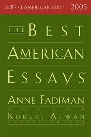 the best american essays by anne fadiman