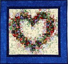 Jeanne's Virtual Quilt Gallery Page 20 - Watercolor Heart And ... & Watercolor Heart Quilt by Jeanne Prue Adamdwight.com