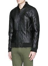 scotch soda leather jacket | eBay & SCOTCH & SODA Men's Genuine Black Leather Bomber Jacket ... Adamdwight.com