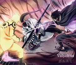 Boruto Manga Naruto And Sasuke Vs Jigen - Anime Wallpapers