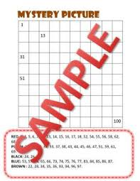 300 Chart Math Super Hero 100s 200 S 300s Chart Mystery Picture Math Centers Bilingual