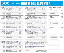 Calories Diet Chart Weight Gain 500 Calorie Diet Menu Plan In 2019 1000 Calorie Diets