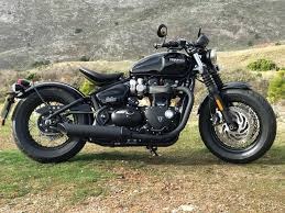 triumph bobber black 2018 review bikesocial