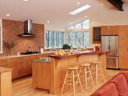 MultiLevel-Kitchen-Island-with-Bar-Seating-Crown-Point-