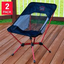 timber ridge patio outdoor camping lightweight backng chair 2 pack